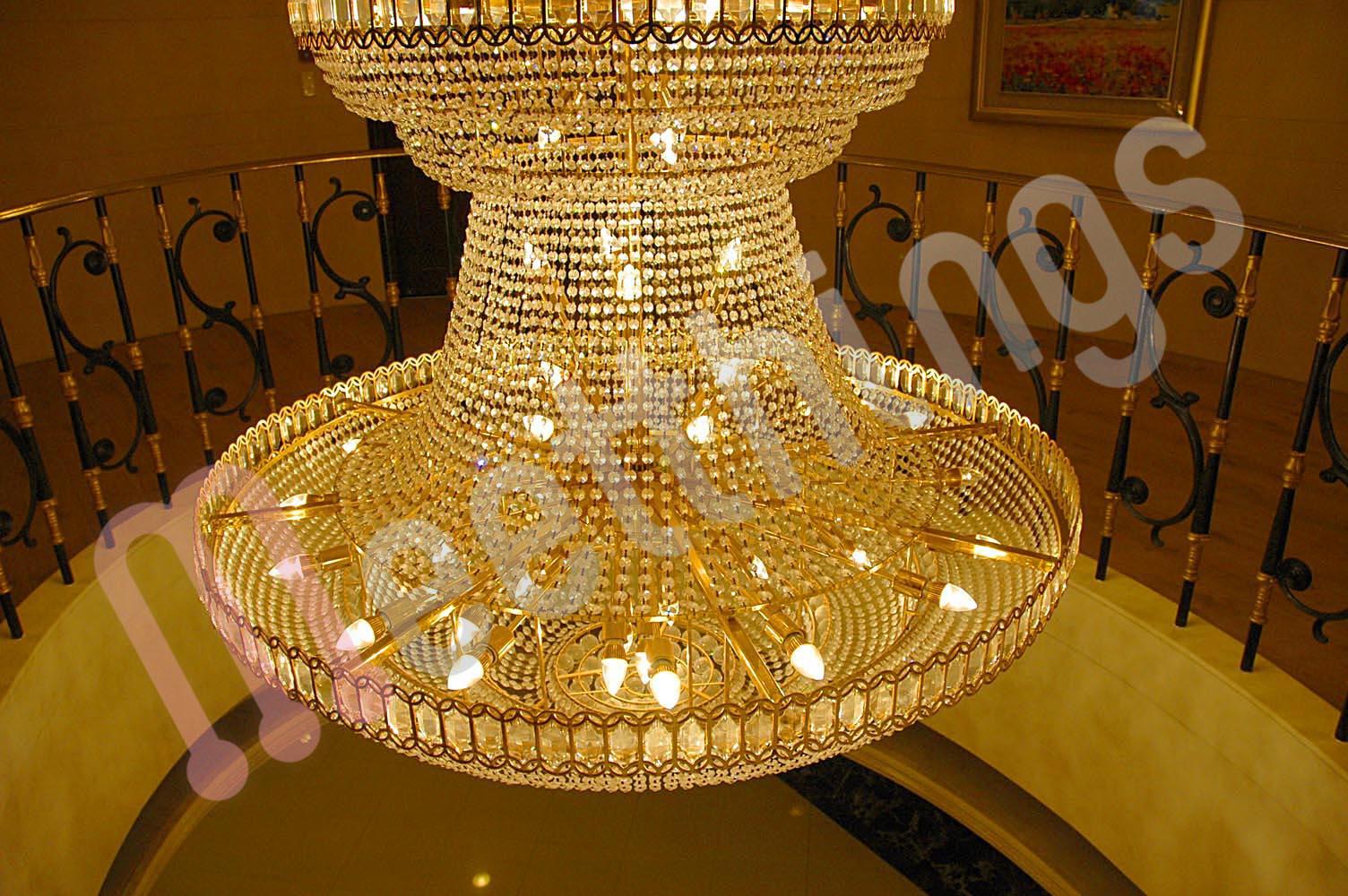 L mparas ara a con leds blog meetthings art culos sobre leds de venta en nuestra tienda - Lamparas de arana de cristal ...
