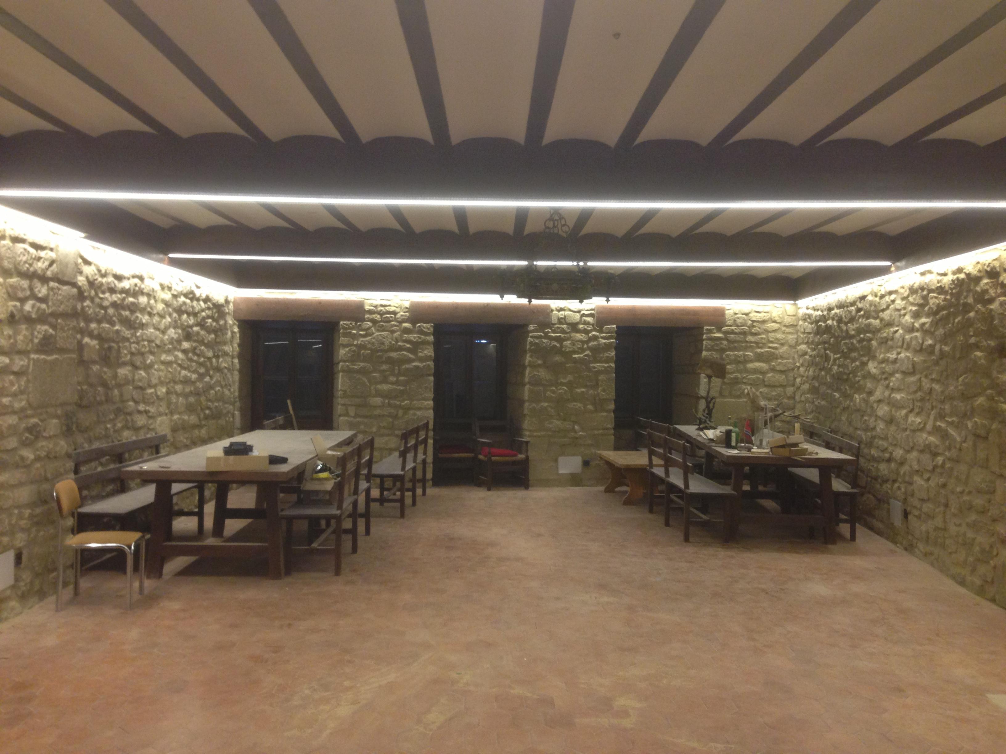 C mo se puede hacer una reforma de la iluminaci n sin - Cambiar instalacion electrica sin rozas ...